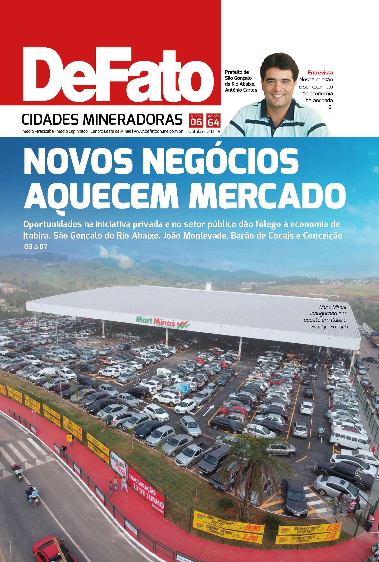 Jornal DeFato Cidades Mineradoras – Edição 64