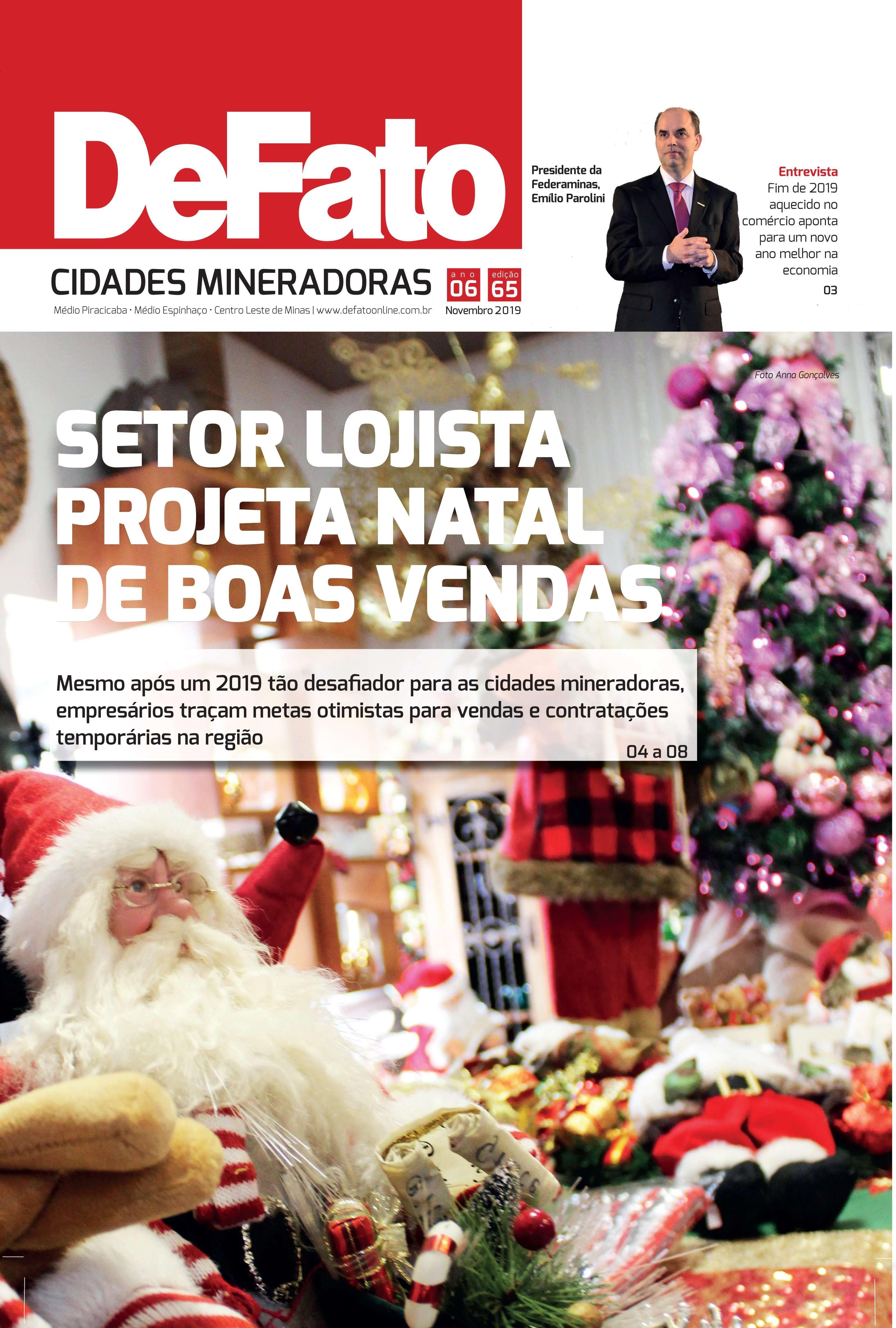 Jornal DeFato Cidades Mineradoras – Edição 65