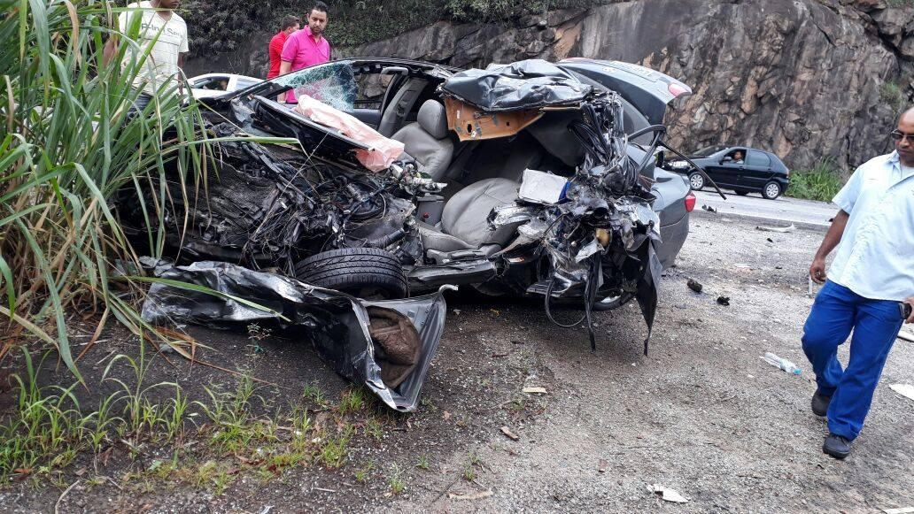 Acidente fatal entre São Gonçalo e João Monlevade nessa terça