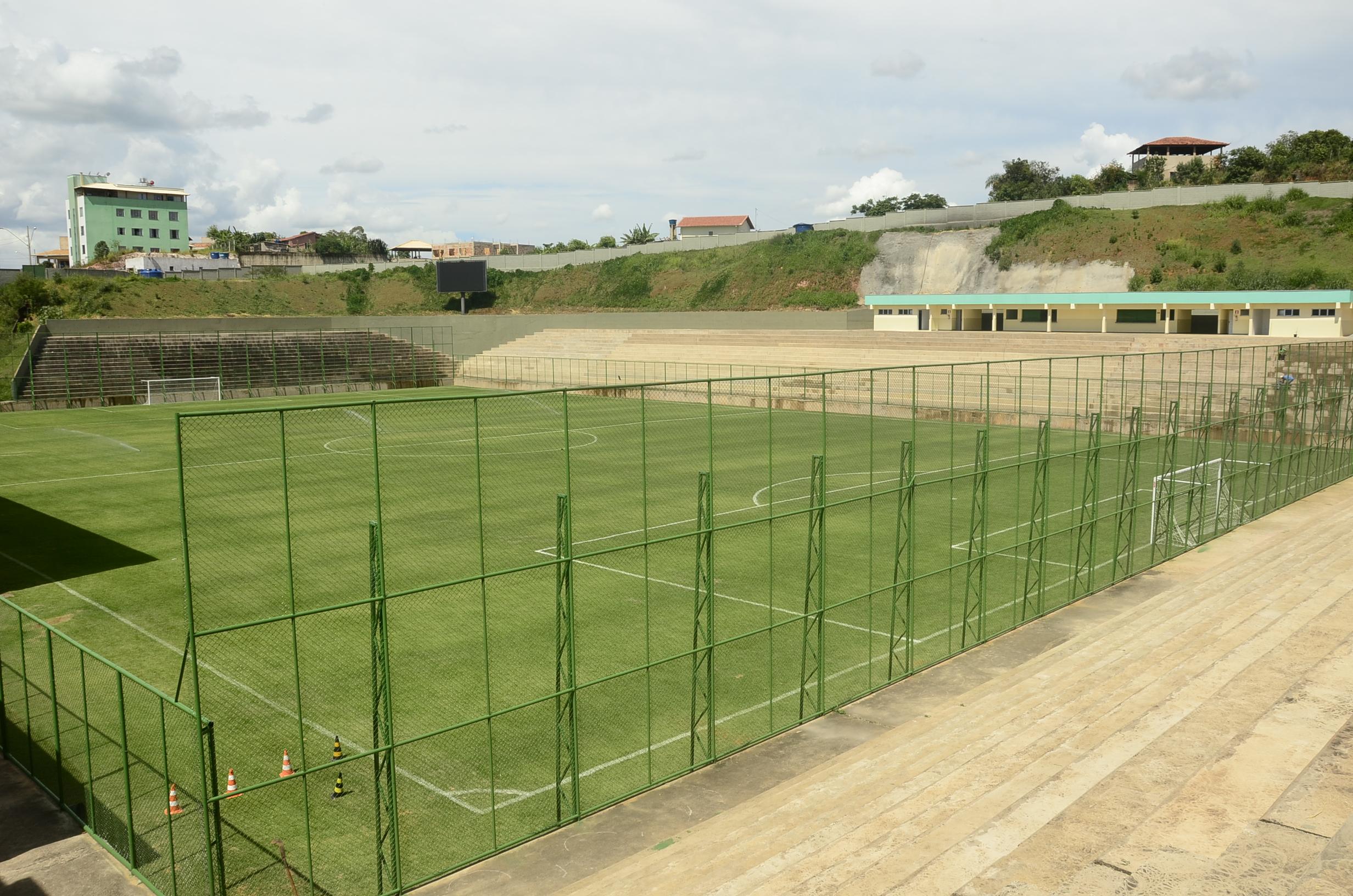 Arena São Gonçalo será inaugurada dia 4 com amistoso do Tricordiano