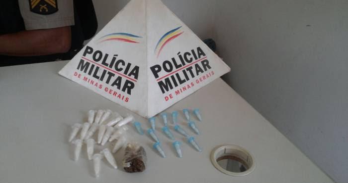 Polícia prende homem suspeito de tráfico de drogas no São Cristóvão