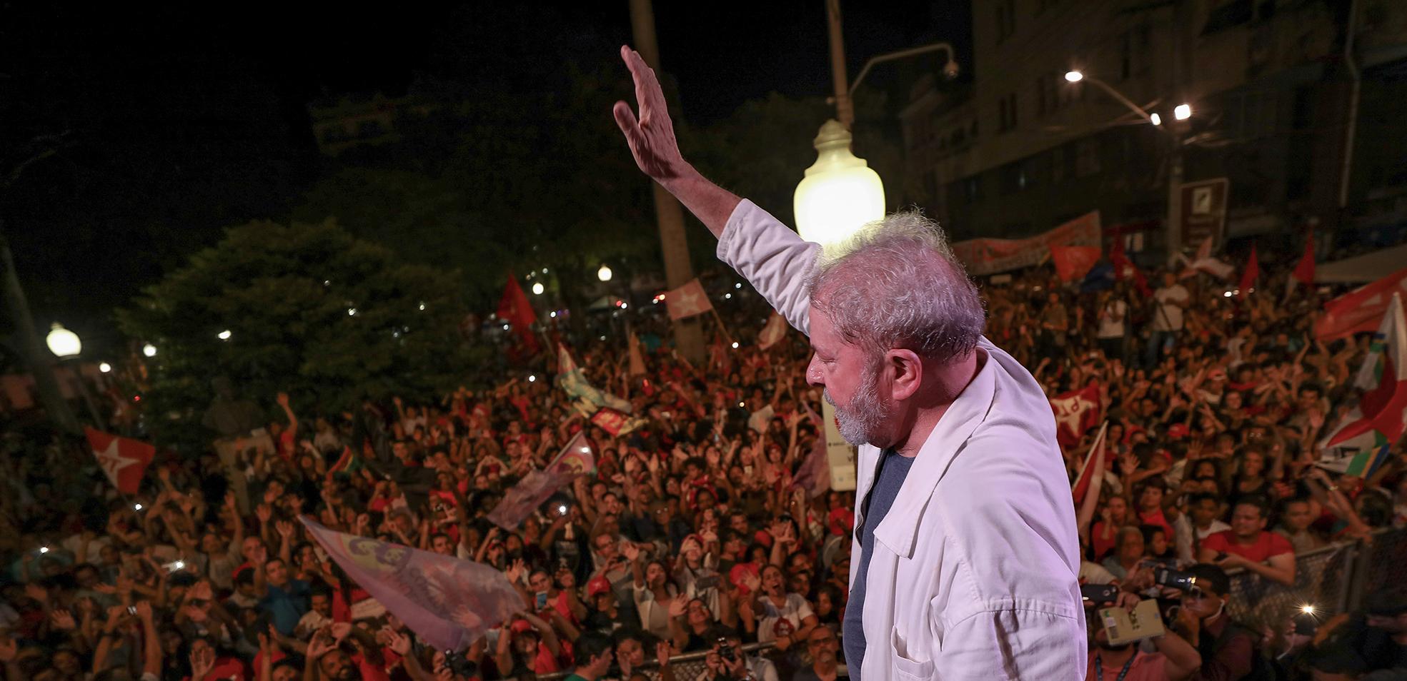 João Monlevade terá manifestação em defesa de Lula na próxima quarta-feira
