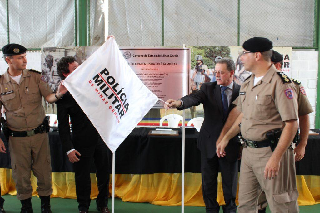 Colégio Tiradentes é inaugurado em Itabira com propósito de valorizar disciplina e respeito
