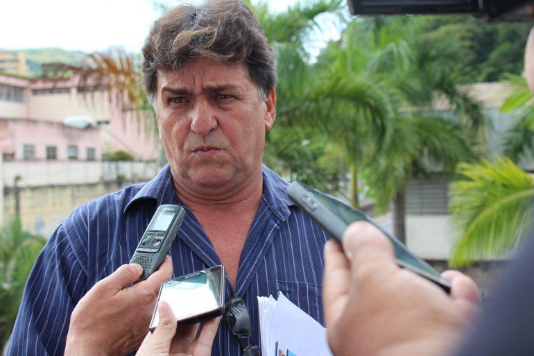 Presidente do Valério vai à Câmara e pede apoio para time se reerguer