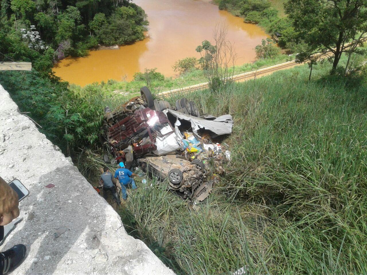 Acidente grave mata duas pessoas na BR-381 em João Monlevade
