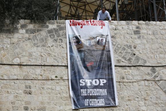 Igrejas cristãs fecham Santo Sepulcro em protesto contra cobrança de impostos