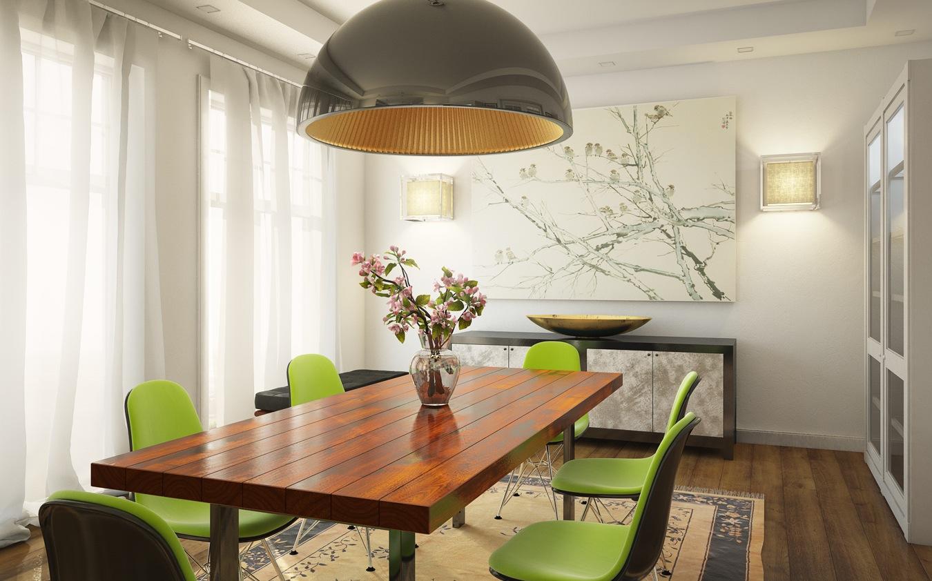 Pendentes Para Sala De Jantar Modernos Mesa E Cadeiras Integrada