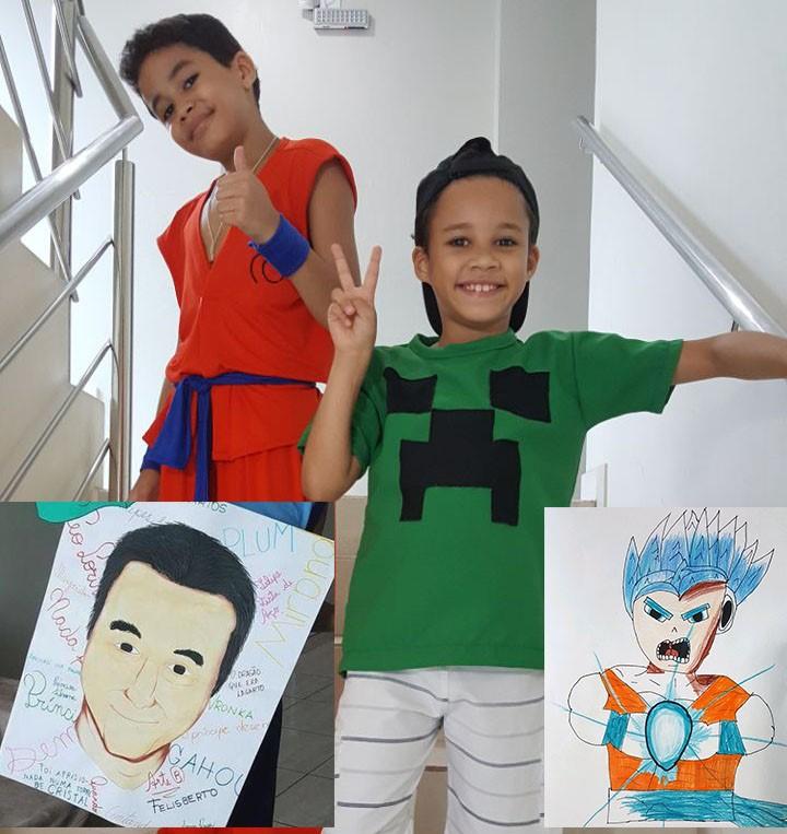 Arte em papel: irmãos 'itabiranos' mostram talento para o desenho e ganham destaque no Pará
