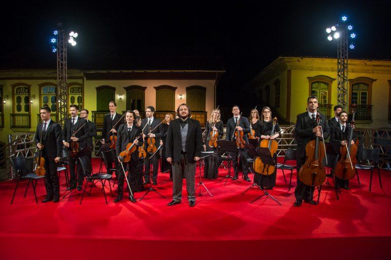 Orquestra Ouro Preto de graça em São Gonçalo do Rio Abaixo