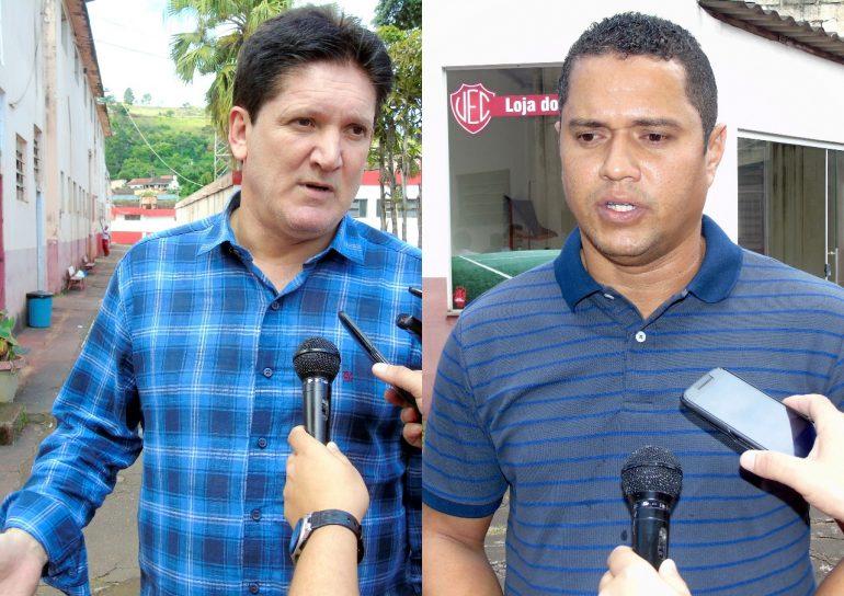 Roberto Gaúcho e Marcelo Ramos chegam a Itabira prometendo um 'casamento feliz' com o Valério