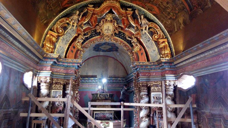 Matriz de Nossa Senhora da Conceição tem altar-mor recuperado