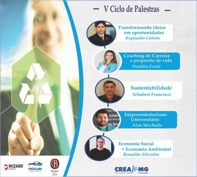 Ciclo de palestras foca empreendedorismo e inovação em Itabira