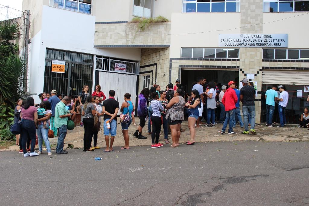 Último dia para regularização eleitoral tem movimentação intensa no Cartório de Itabira
