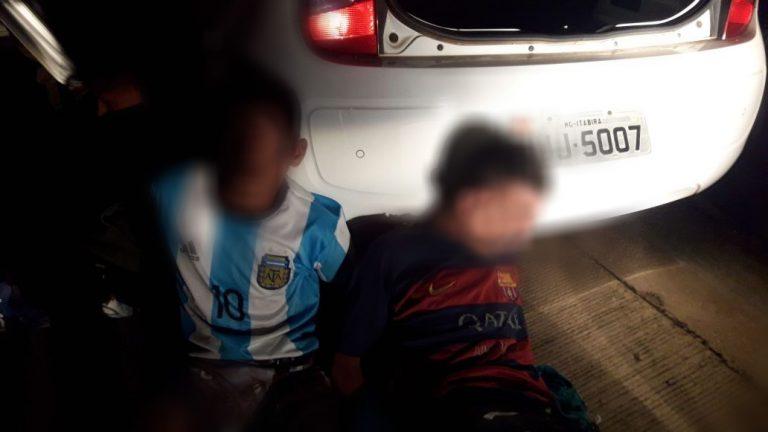 Adolescentes acusados de sequestro em Itabira são levados para centros de internação