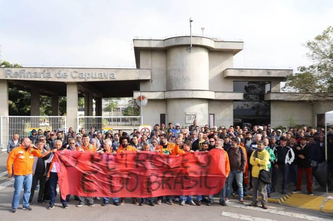 Petroleiros deflagram greve a partir desta quarta-feira