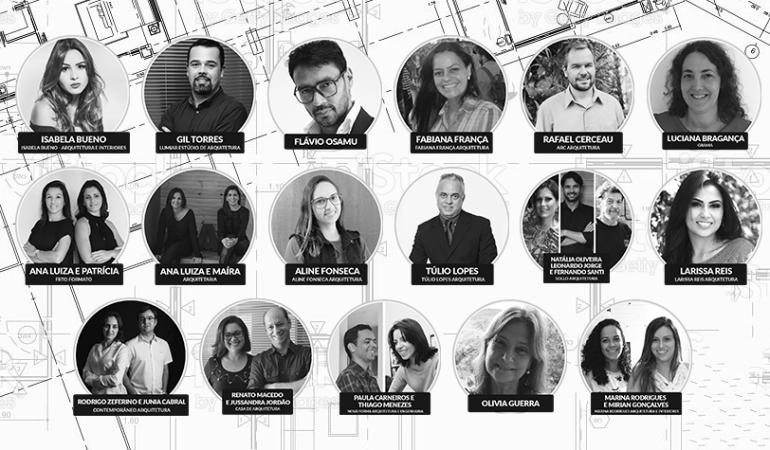 Conheça o time de profissionais que ajudará a elaborar a Revista DeFato Arquitetura & Construção