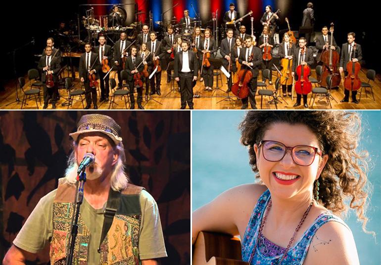 Orquestra Ouro Preto, Zé Geraldo e Roberta Campos na Festa do Vinho de Catas Altas
