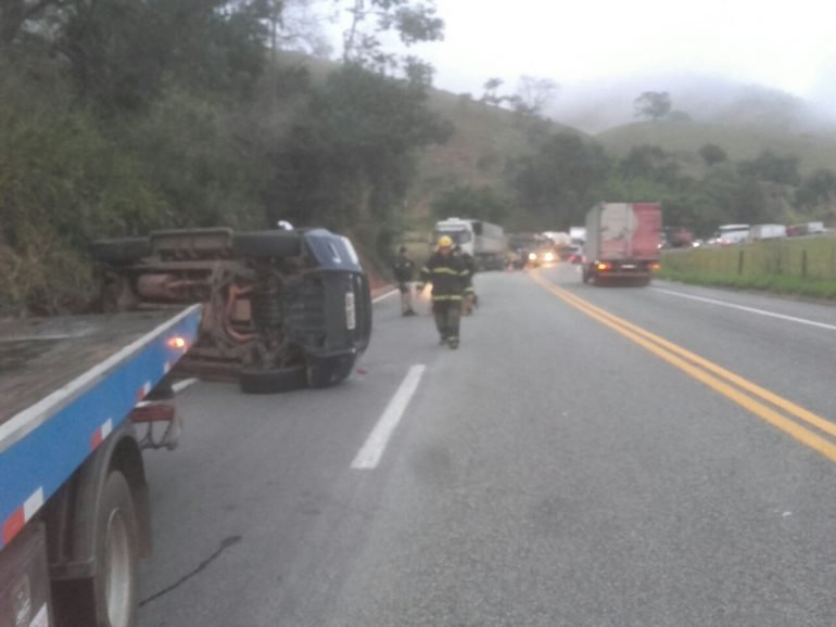 Policial rodoviário federal morre em acidente próximo a Nova Era