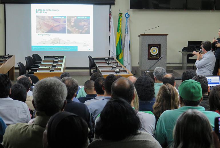 'Não haverá alteração do nível de risco', garante engenheiro da Vale sobre alteamento de Itabiruçu
