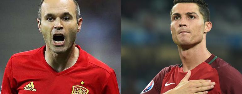 4eb70db77d7cc Portugal e Espanha se enfrentam no jogo mais aguardado da 1ª rodada -  DeFato Online