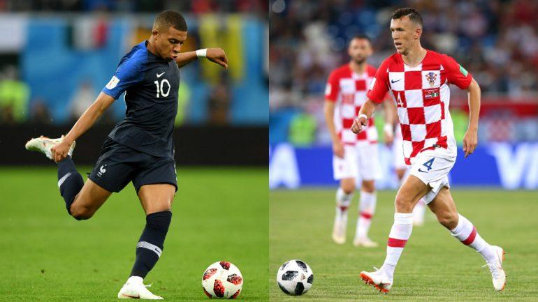 Disputas individuais podem decidir a final entre França e Croácia