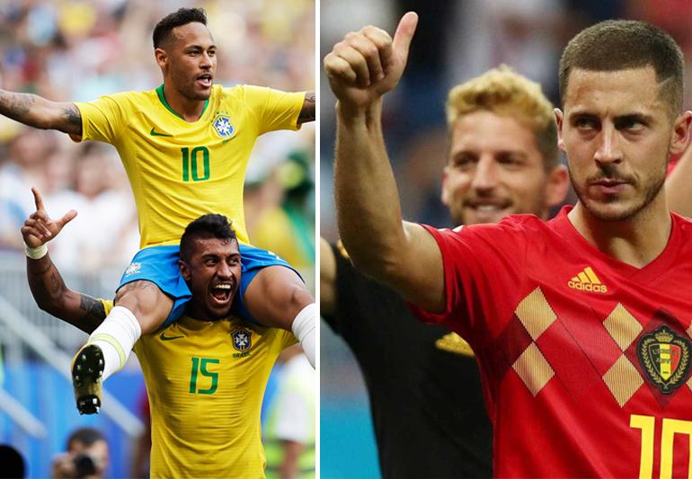 É hoje! Brasil e Bélgica buscam vaga na semifinal