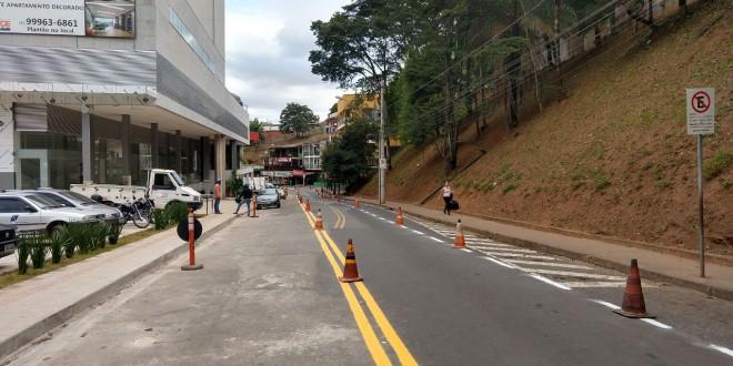 Prefeitura informa mudanças no estacionamento da rua Irmãos D'Caux