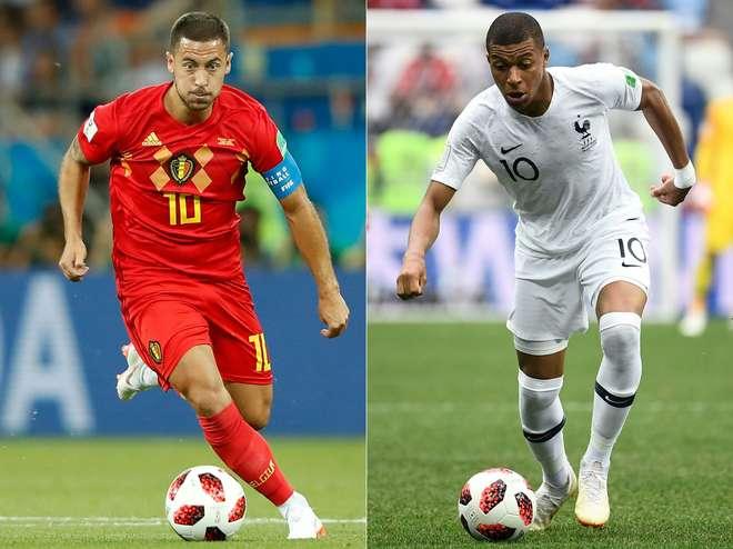 França e Bélgica decidem primeira finalista da Copa do Mundo nesta terça