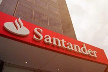 Santander investirá no Brasil R$ 2,7 bi em digitalização de contas