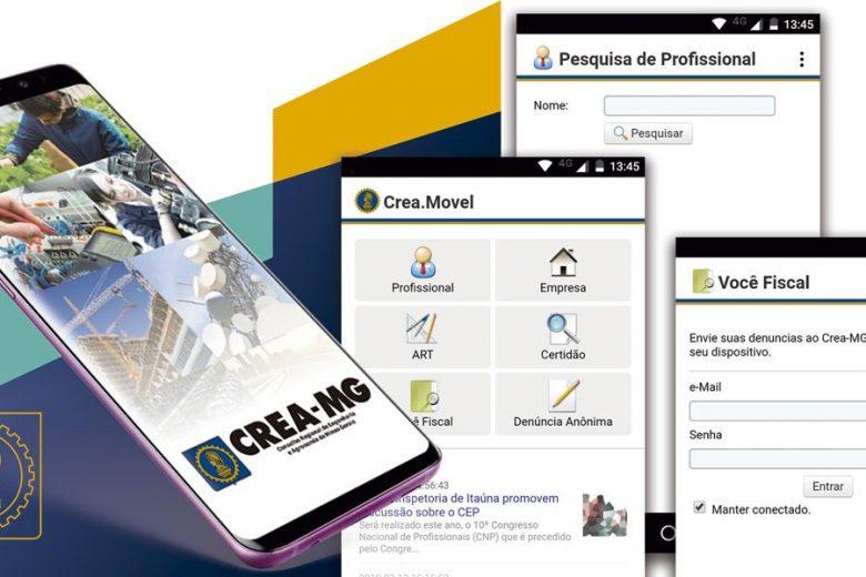 Aplicativo do Crea-MG facilita denúncias de irregularidades