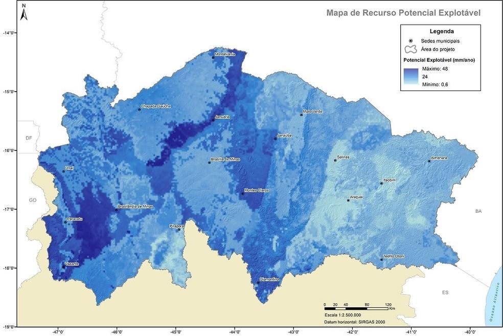 Pesquisa inédita avalia a disponibilidade de água subterrânea do Norte de Minas Gerais