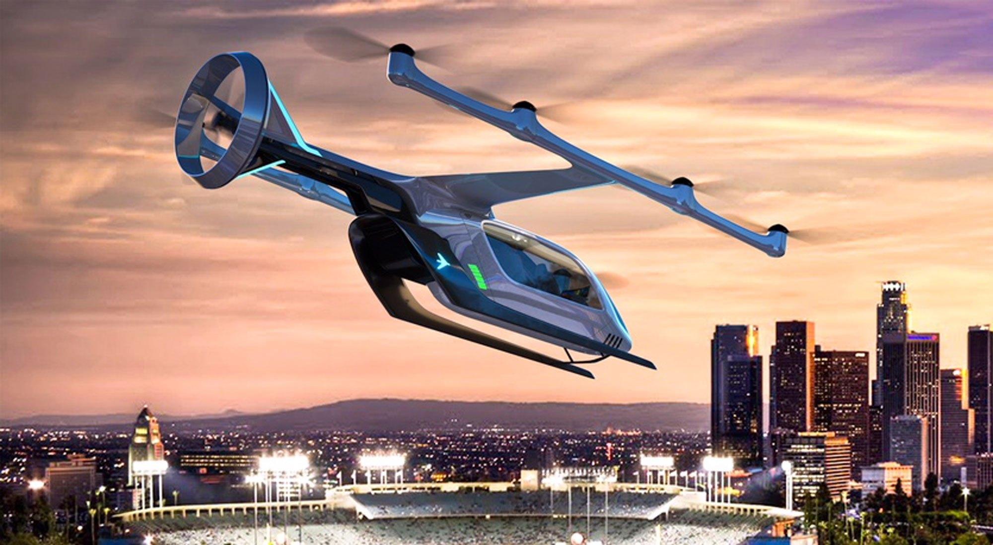 Atech, da Embraer, prepara gestão de tráfego aéreo para carro voador