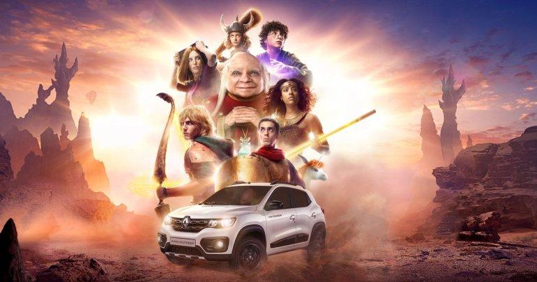 """Renault apresenta o retorno de """"Caverna do Dragão"""" em nova campanha"""
