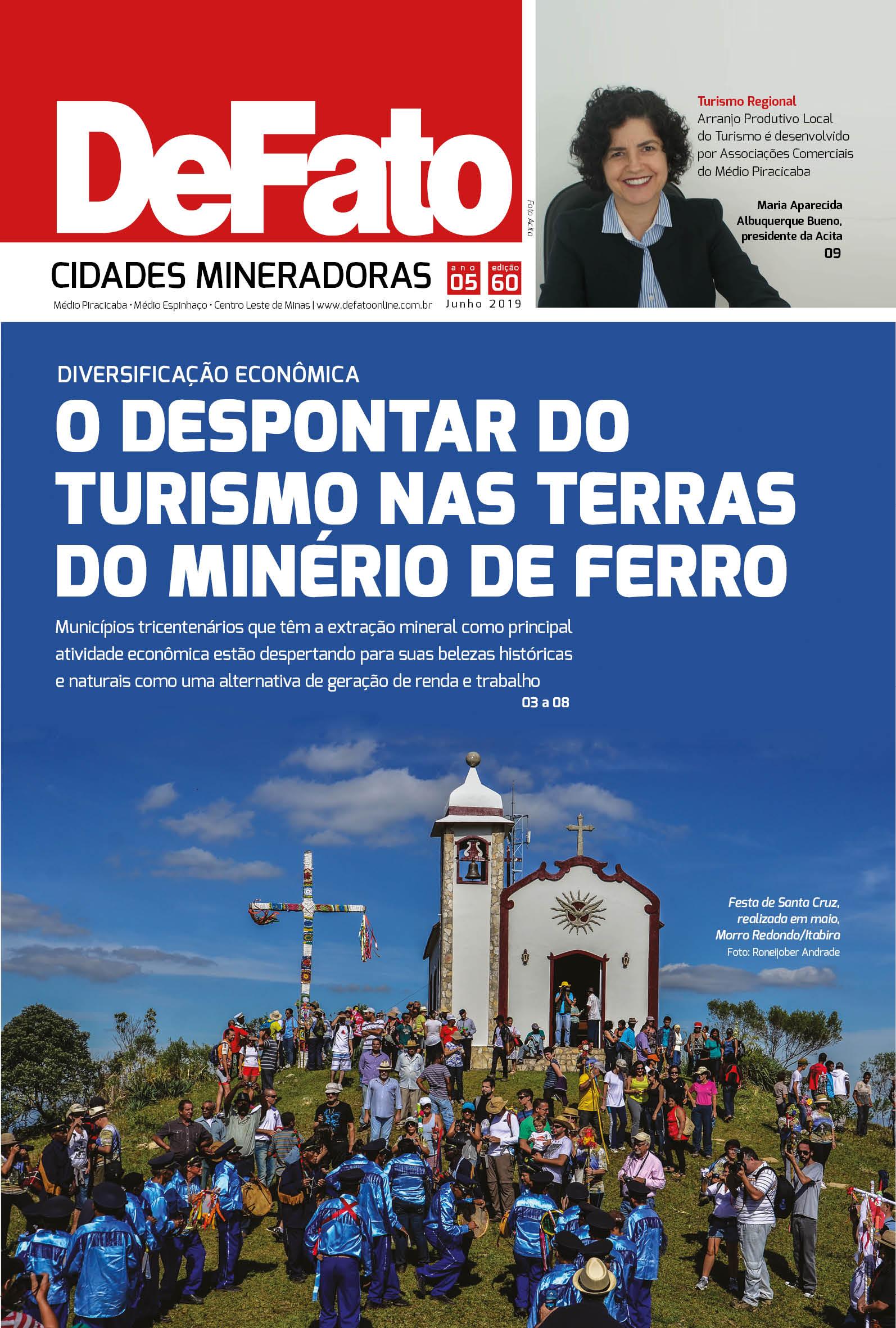 Jornal DeFato Cidades Mineradoras - Edição 60
