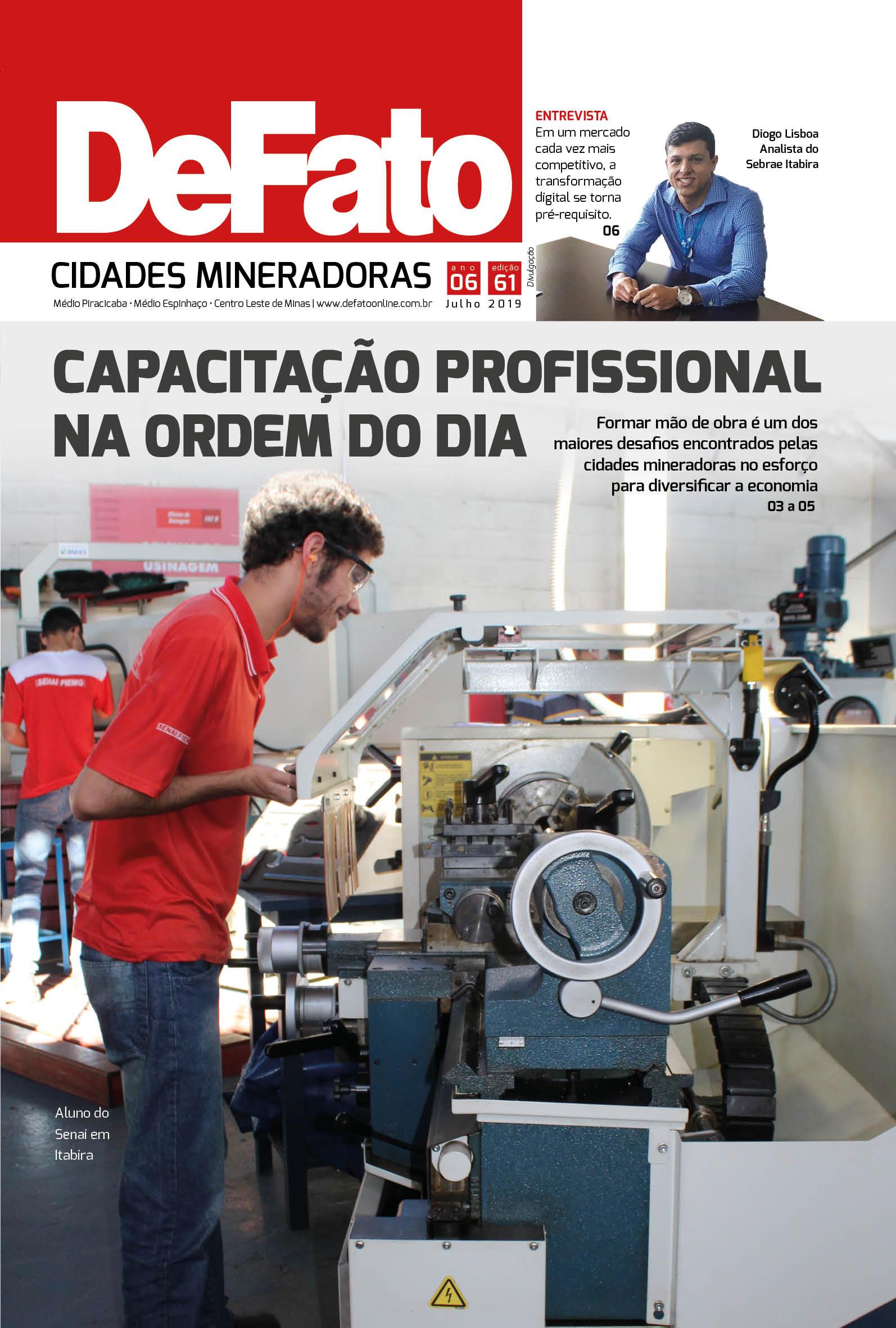 Jornal DeFato Cidades Mineradoras – Edição 61