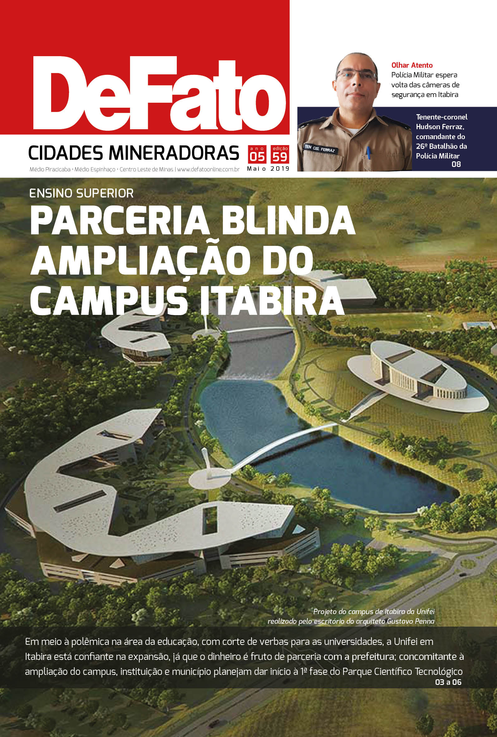 Jornal DeFato Cidades Mineradoras - Edição 59