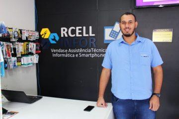 RCELL INFOR completa um 1 ano em Itabirae comemora sucesso da loja