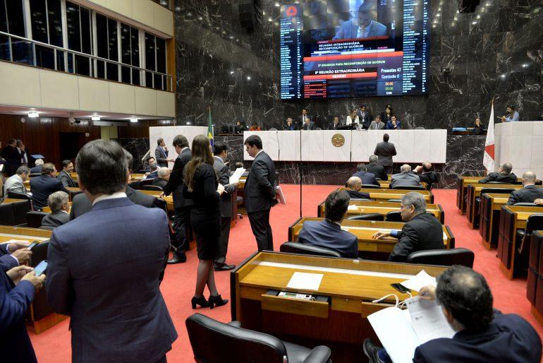 Deputados mantêm pagamento de jetons a secretários de Zema
