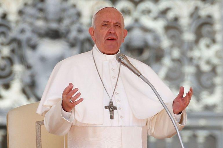Papa se opõe a acordo com narcotráfico para reduzir violência