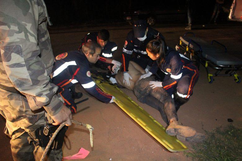 Jovem é encontrado caído após ser agredido na estrada do Candidópolis