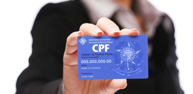 CPF é definido como único documento necessário para ter acesso aos serviços do governo