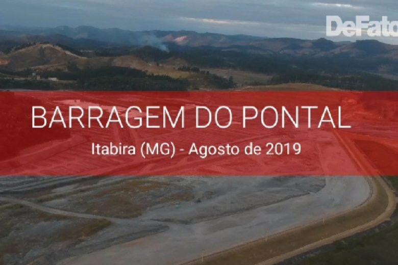 Veja como se encontra a barragem do Pontal às vésperas do simulado de evacuação