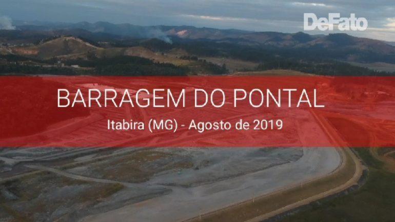 Imagem: Veja como se encontra a barragem do Pontal às vésperas do simulado de evacuação
