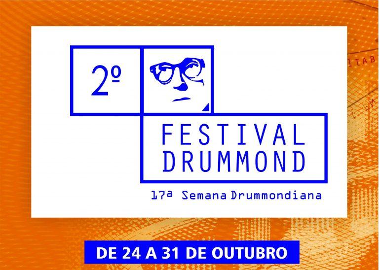 """17ª Semana Drummondiana e 2º Festival Drummond celebram os 90 anos do poema """"No Meio do Caminho"""". Confira a programação!"""