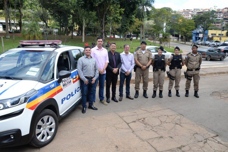 Área da 17° Companhia Independente da Polícia Militar recebe 12 novas viaturas