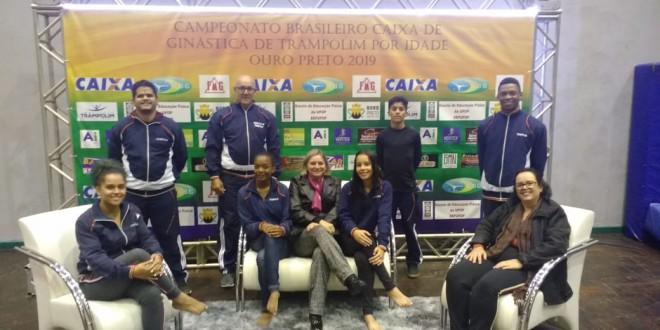 Equipe de Itabira disputa Campeonato Brasileiro de Trampolim