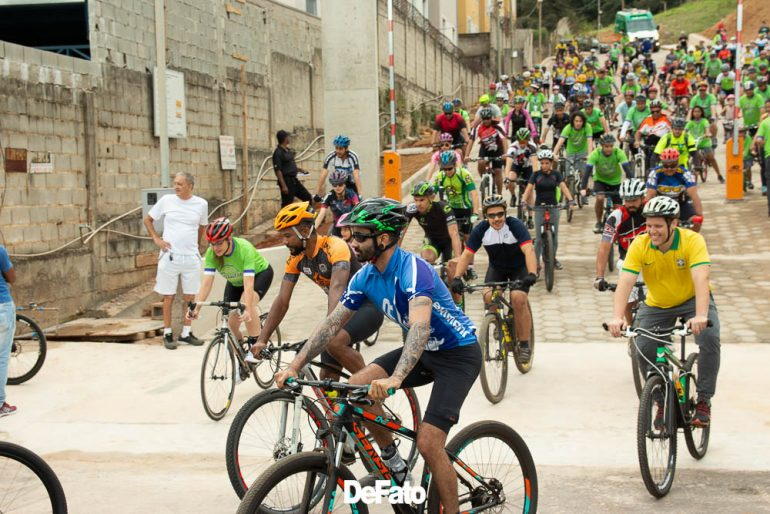 1° Passeio Ciclístico da Unimed Itabira