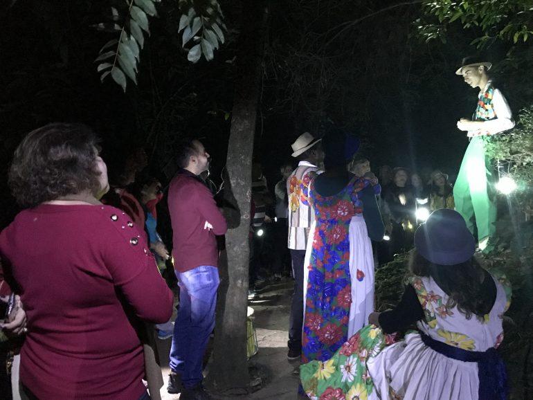 Prefeitura de Itabira estreia passeio noturno na Mata do Intelecto
