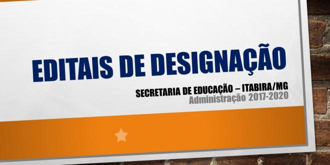 Secretaria de Educação divulga editais para preenchimento de vagas temporárias