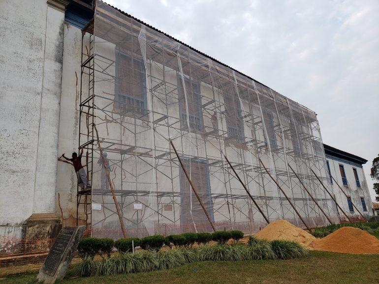 Matriz de Nossa Senhora da Conceição é restaurada em Catas Altas